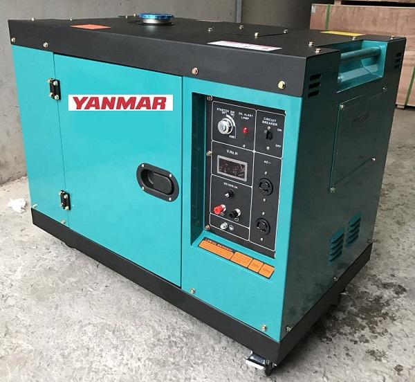 Máy phát điện chạy dầu có thể lắp đặt trong nhà máy sản xuất, hộ gia đình,...